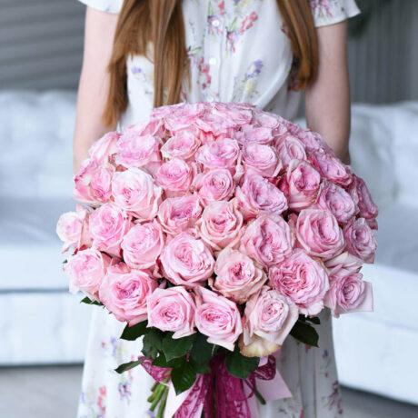 Букет из 51 розы Охара