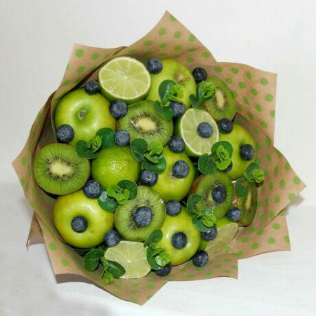 Букет из зеленых яблок и лайма