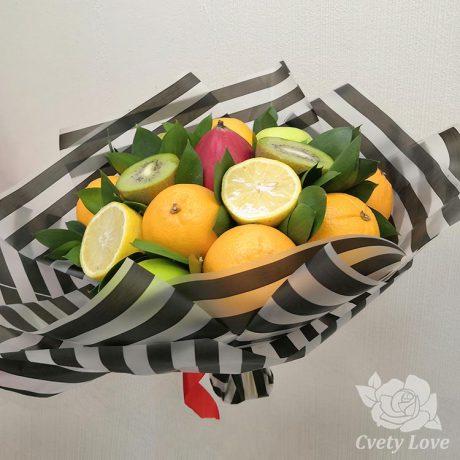 Букет из манго и апельсинов