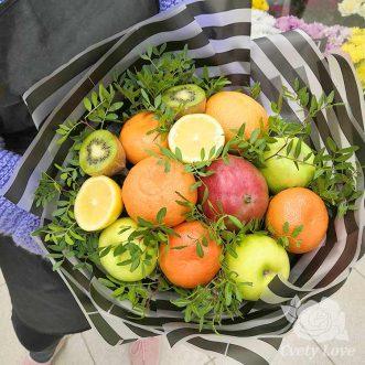 Букет из манго и мандаринов